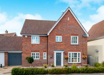 Thumbnail 4 bed detached house for sale in Gardeners Walk, Elmswell, Bury St. Edmunds