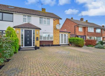 Thumbnail 4 bed semi-detached house for sale in Ashden Walk, Tonbridge, Kent