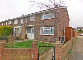 Thumbnail 3 bedroom end terrace house for sale in Curdridge Close, Havant