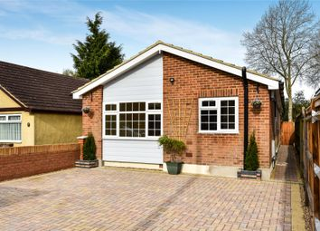 Thumbnail 4 bed detached bungalow for sale in College Road, College Town, Sandhurst, Berkshire