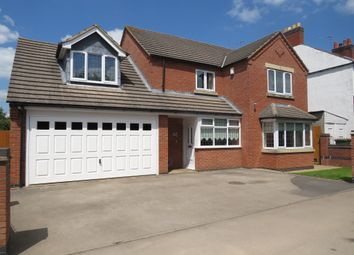 Thumbnail 4 bed detached house for sale in Spring Gardens, Sapcote, Leicester