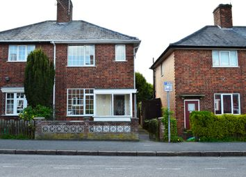 Thumbnail 2 bed semi-detached house to rent in Sandhurst Street, Oadby, Leicester