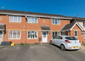 Thumbnail 2 bed town house for sale in Firestone Close, Leicester