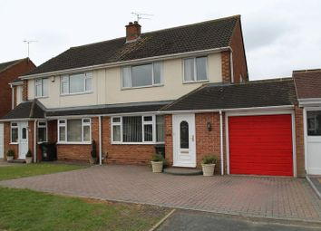 Thumbnail 3 bedroom semi-detached house for sale in Queensfield, Upper Stratton, Swindon
