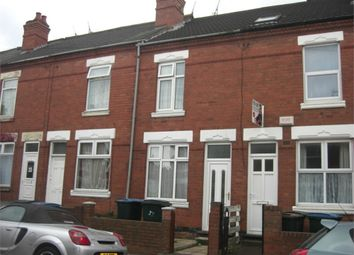 Thumbnail 3 bed terraced house to rent in Northfield Road, Coventry, West Midlands