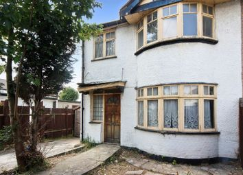 Thumbnail 3 bed end terrace house for sale in Francis Road, Perivale, Greenford