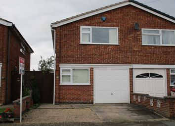 Thumbnail 3 bedroom semi-detached house for sale in Stancliff Road, Leicester