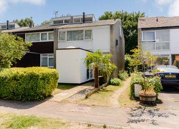 Thumbnail 3 bedroom end terrace house for sale in Daniells, Welwyn Garden City