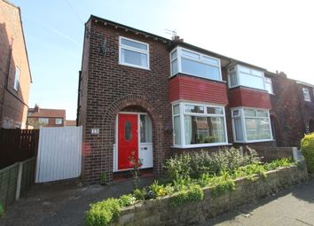 Thumbnail 3 bed semi-detached house for sale in Maxwell Avenue, Stockport