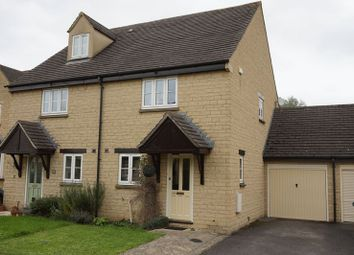 Thumbnail 2 bed semi-detached house to rent in Bartholomew Close, Ducklington, Witney