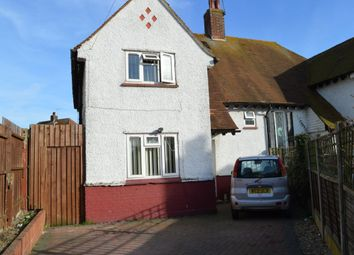 Thumbnail 4 bed semi-detached house for sale in Connaught Gardens, Margate
