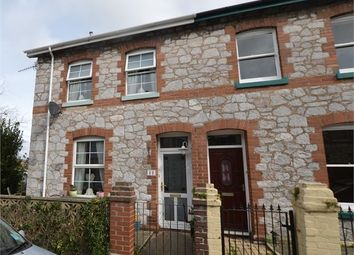 Thumbnail 2 bed end terrace house for sale in Waltham Road, Newton Abbot, Devon.