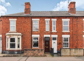 Thumbnail 2 bed terraced house for sale in Chellaston Road, Derby