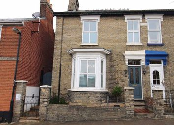 Thumbnail 2 bed semi-detached house for sale in Cumberland Street, Ipswich