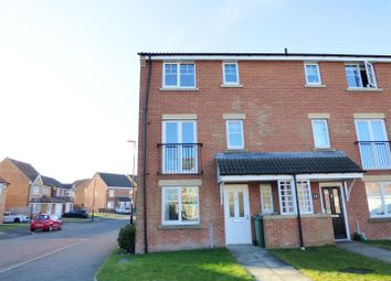 Thumbnail 5 bed town house for sale in Ellesmere Close, Fencehouses, Houghton Le Spring