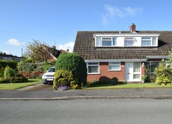 Thumbnail 4 bed semi-detached bungalow for sale in Cedar Avenue, Shawbury, Shrewsbury