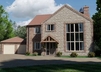 Thumbnail 4 bedroom detached house for sale in Thorne Lane, Scothern, Lincoln