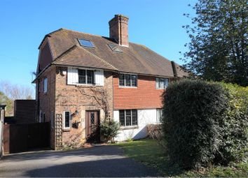 Thumbnail 4 bed semi-detached house for sale in Wish Hill, Eastbourne