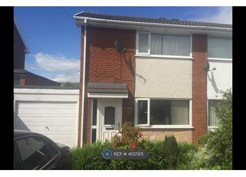 Thumbnail 2 bed semi-detached house to rent in Berwyn Close, Buckley