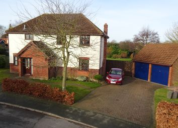Thumbnail 4 bed detached house for sale in Sawyers, Elmsett, Ipswich