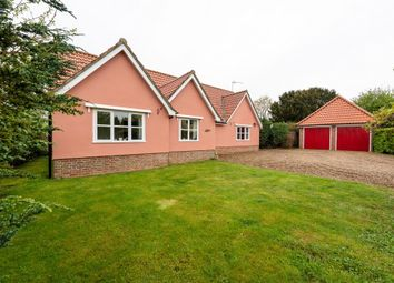 Thumbnail 3 bed detached bungalow for sale in Deadmans Lane, Stoke Ash, Eye, Suffolk
