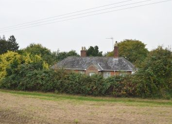 Thumbnail 3 bedroom detached bungalow for sale in Bledwick Drove, Leverington, Wisbech