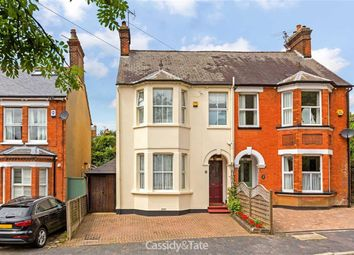 Thumbnail 3 bedroom semi-detached house for sale in Upper Lattimore Road, St Albans, Hertfordshire