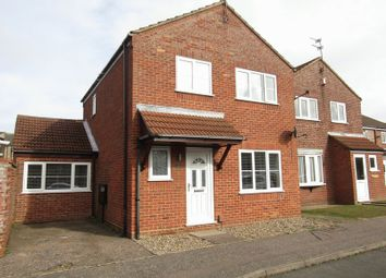 Thumbnail 3 bed detached house for sale in Styles Close, Bradwell, Great Yarmouth