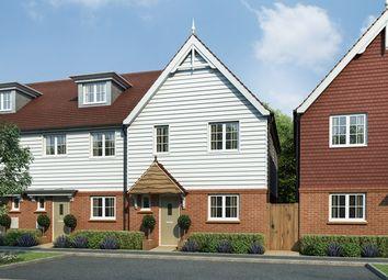 Thumbnail 3 bed terraced house for sale in Tudeley Lane, Tonbridge