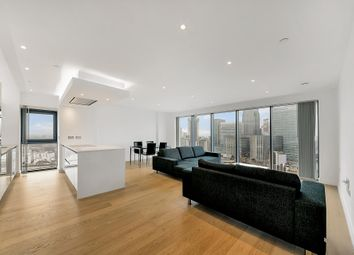 Thumbnail 2 bedroom flat to rent in Horizons Tower, Yabsley Street, London