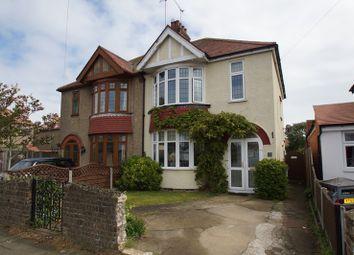 Thumbnail 3 bed semi-detached house for sale in Tudor Gardens, Shoeburyness, Thorpedene Estate