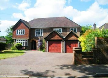 Thumbnail 4 bed detached house to rent in Oxshott Road, Leatherhead