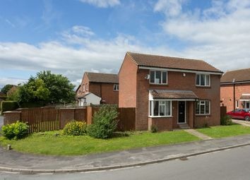 Thumbnail 3 bedroom detached house for sale in Middlecroft Drive, Strensall, York