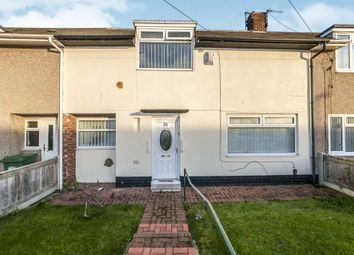 Thumbnail 2 bed terraced house for sale in Dunoon Road, Hartlepool