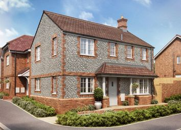 """Thumbnail 3 bedroom detached house for sale in """"The Clayton Corner"""" at Hinchliff Drive, Wick, Littlehampton"""