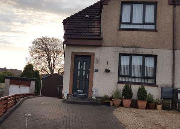 Thumbnail 2 bed semi-detached house for sale in Murdostoun Crescent, Harthill, Shotts