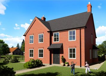 Thumbnail 2 bed semi-detached house for sale in Spire View, Boston Road, Heckington, Lincolnshire