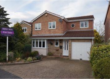 Thumbnail 4 bed detached house for sale in Merbeck Drive, Sheffield