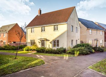 Thumbnail 4 bed detached house for sale in Kingfisher Close, Cringleford, Norwich
