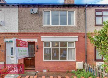 Thumbnail 2 bed terraced house for sale in Wellington Street, Shotton, Deeside, Flintshire