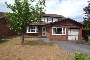 Thumbnail 4 bed detached house to rent in Montrose Close, Macclesfield, Cheshire