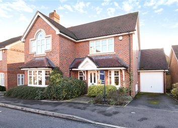 Thumbnail 4 bedroom detached house for sale in Skylark Way, Shinfield, Reading