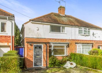 Thumbnail 2 bedroom semi-detached house for sale in Hillsborough Road, Glen Parva, Leicester