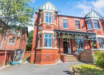 Thumbnail 4 bed semi-detached house to rent in Osborne Road, Levenshulme, Manchester