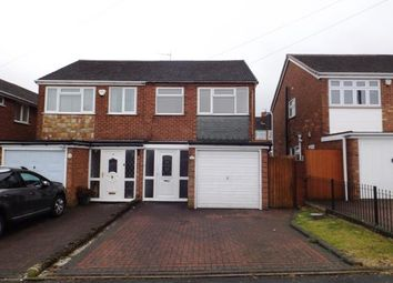 Thumbnail 2 bed semi-detached house for sale in Lea Green Avenue, Tipton, West Midlands