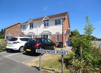 Thumbnail 3 bed semi-detached house for sale in Bridgeness Road, Littleover, Derby