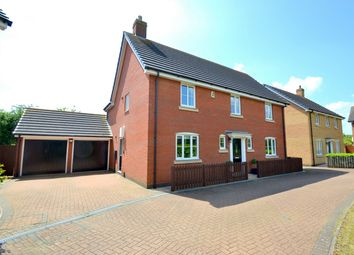 Thumbnail 4 bedroom detached house for sale in The Wyvern, Grafham, Cambridgeshire