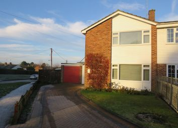 Thumbnail 3 bed semi-detached house for sale in Greenway, Newton Longville, Milton Keynes