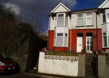 Thumbnail 4 bed end terrace house for sale in Cardiff Road, Mountain Ash