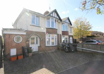 Thumbnail 3 bed semi-detached house for sale in Copse Avenue, Swindon, Wiltshire